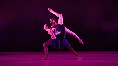 Ailey II's Samantha Barriento and Lloyd A. Boyd III in Jean Emile's In & Out
