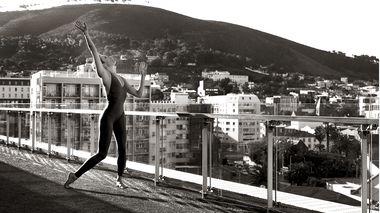 Elisa Clark in Cape Town