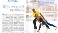 Dance Teacher Magazine - Troy Powell: How I Teach Horton
