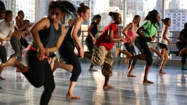 Kukuwa Class at The Ailey Extension