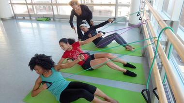 Ailey Barre Class at The Ailey Extension