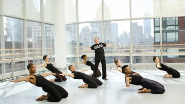 The Ailey School's Horton Class taught by Ana Marie Forsythe