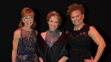 Daria L. Wallach, Joan H. Weill and Debra L. Lee