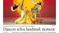 Edmonton Journal - Dancers Relive Landmark Moment