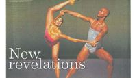 Chicago Sun-Times - New Revelations: Alvin Ailey American Dance Theater Maintains Identity, Grows With Art Form