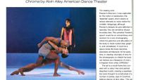 Lighting & Sound America - Freedom Space: Chroma By Alvin Ailey American Dance Theater