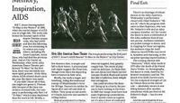 The New York Times - Legacy, Memory, Inspiration, AIDS
