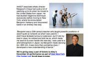 Dance Teacher - What My Teacher Taught Me: Masazumi Chaya