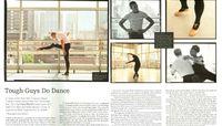 Manhattan Magazine - Tough Guys Do Dance