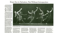 The New York Times - From Sex To Salvation, Not Without Introspection