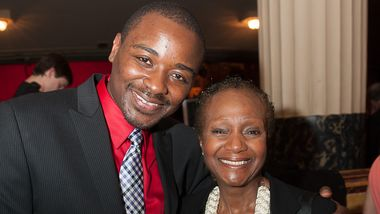 Robert Battle and Sylvia Waters