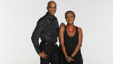 Sylvia Waters and Troy Powell