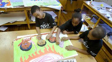 AileyCamp Newark Creative Communications Class