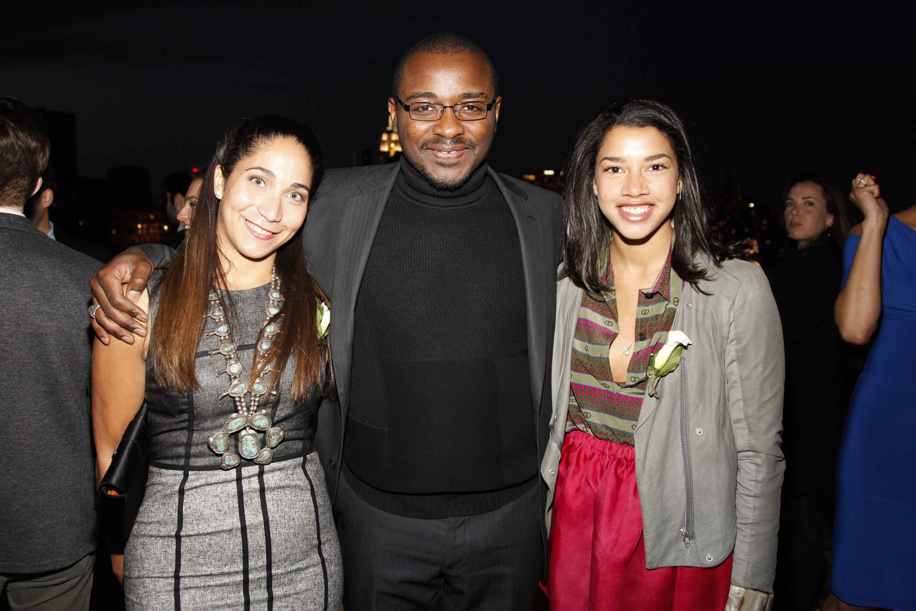 Honor McGee and Hannah Bronfman with Robert Battle | Ailey