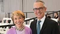 Board Chair Emerita Joan H. Weill and Executive Director Bennett Rink