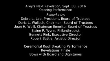 Roofbreaking Ceremony