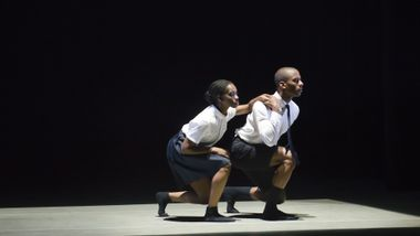 Jessica Amber Pinkett and Christopher R. Wilson in Marcus Jarrell Willis' Stream of Consciousness