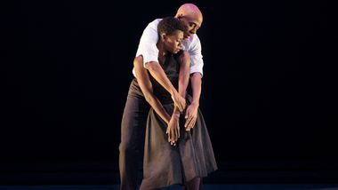 AAADT's Matthew Rushing and Rachael McLaren in Hope Boykin's r-Evolution, Dream.