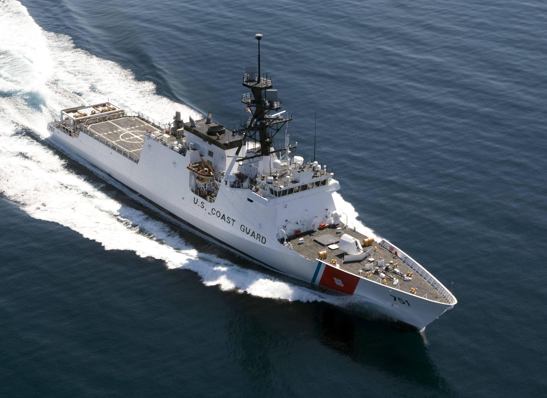 Photo Release -- U  S  Coast Guard Awards Northrop Grumman