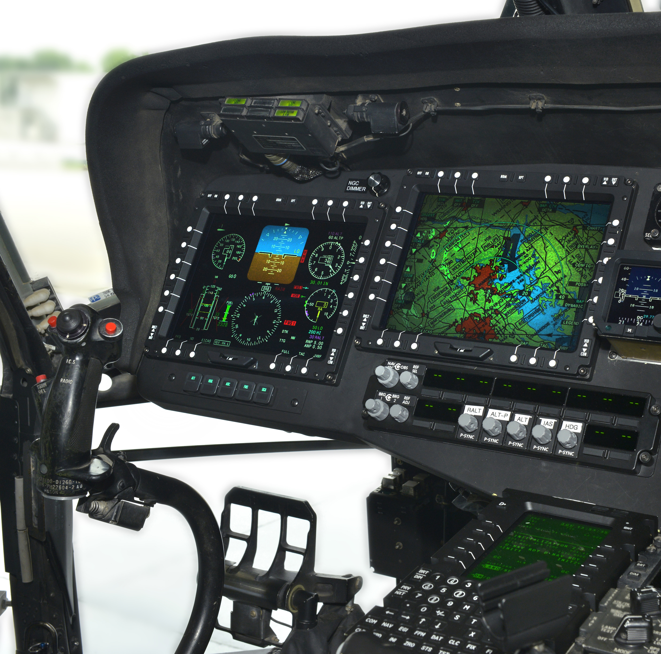 blackhawk helicopter interior with Photo Release Northrop Grumman Selected To Modernize Black Hawk Cockpit For Us Army on Ste unk Battle Ready Airship besides Boeing E2 80 93Sikorsky RAH 66  anche as well Product together with Mi 24 Pics additionally Navy Copter Crash Lands Pair Hurt.