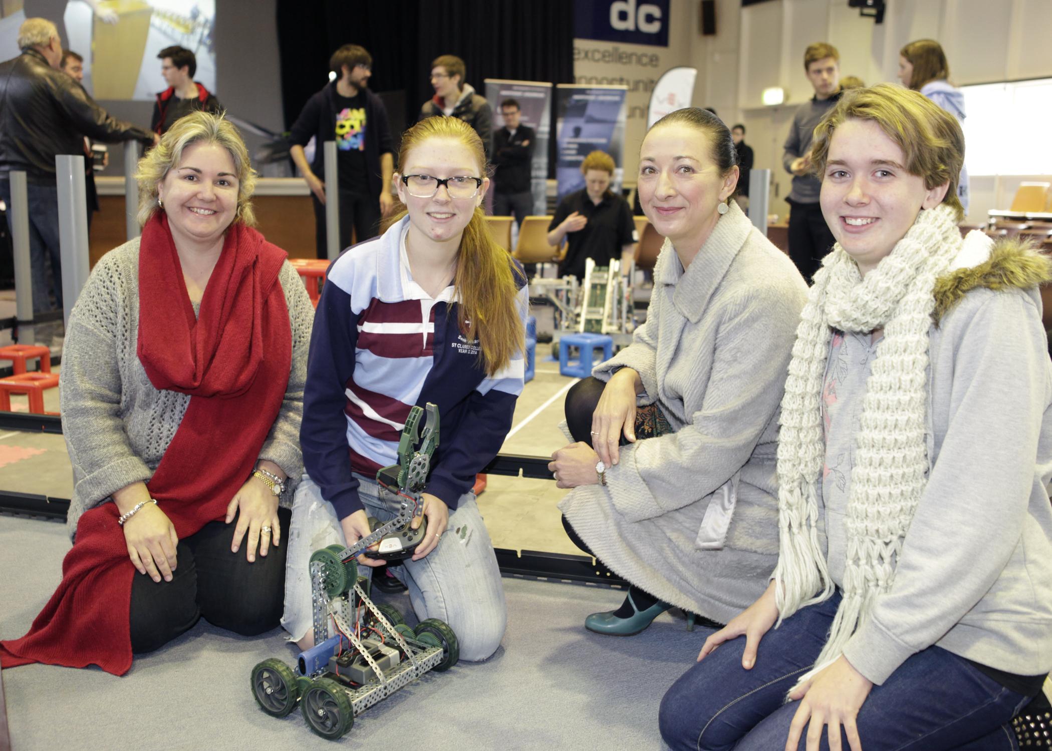 Photo Release The Northrop Grumman Foundation And Robotics