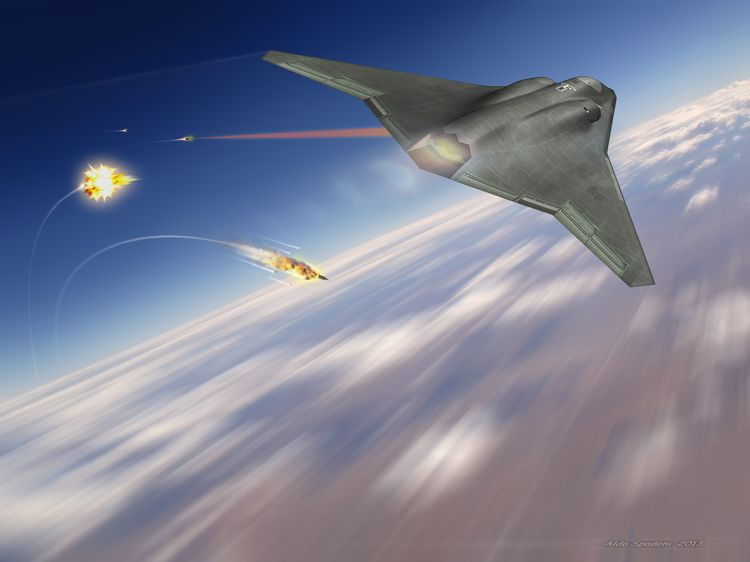 Northrop Grumman to Develop Laser Beam Control System for Next-Generation Fighter