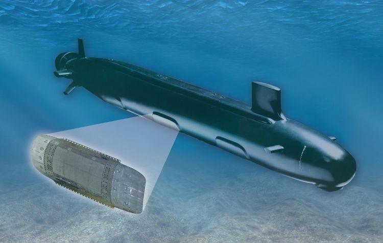Northrop Grumman Delivers First Block IV Light Weight Wide Aperture Array (LWWAA) Submarine Shipset