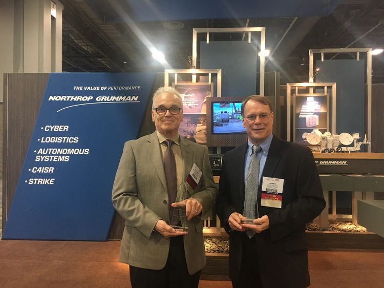 Northrop Grumman's Michael Panopoulos and James Van Kirk Inducted into AOC Electronic Warfare Technology Hall of Fame