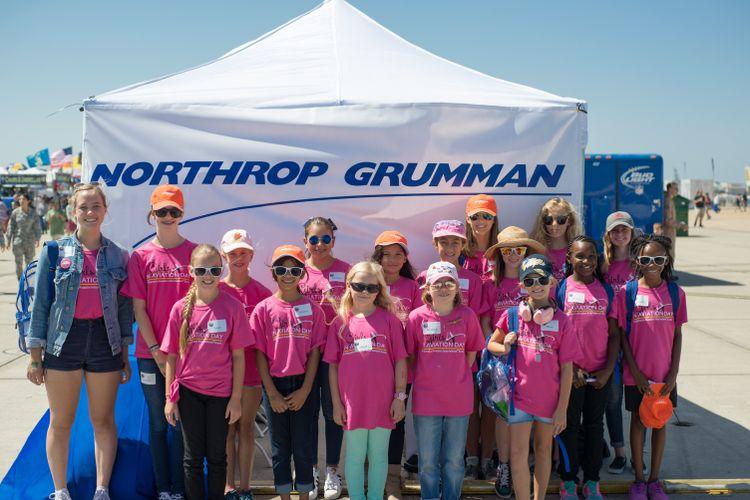 "Northrop Grumman Helps Inspire Future ""Fly Girls"" at Miramar"