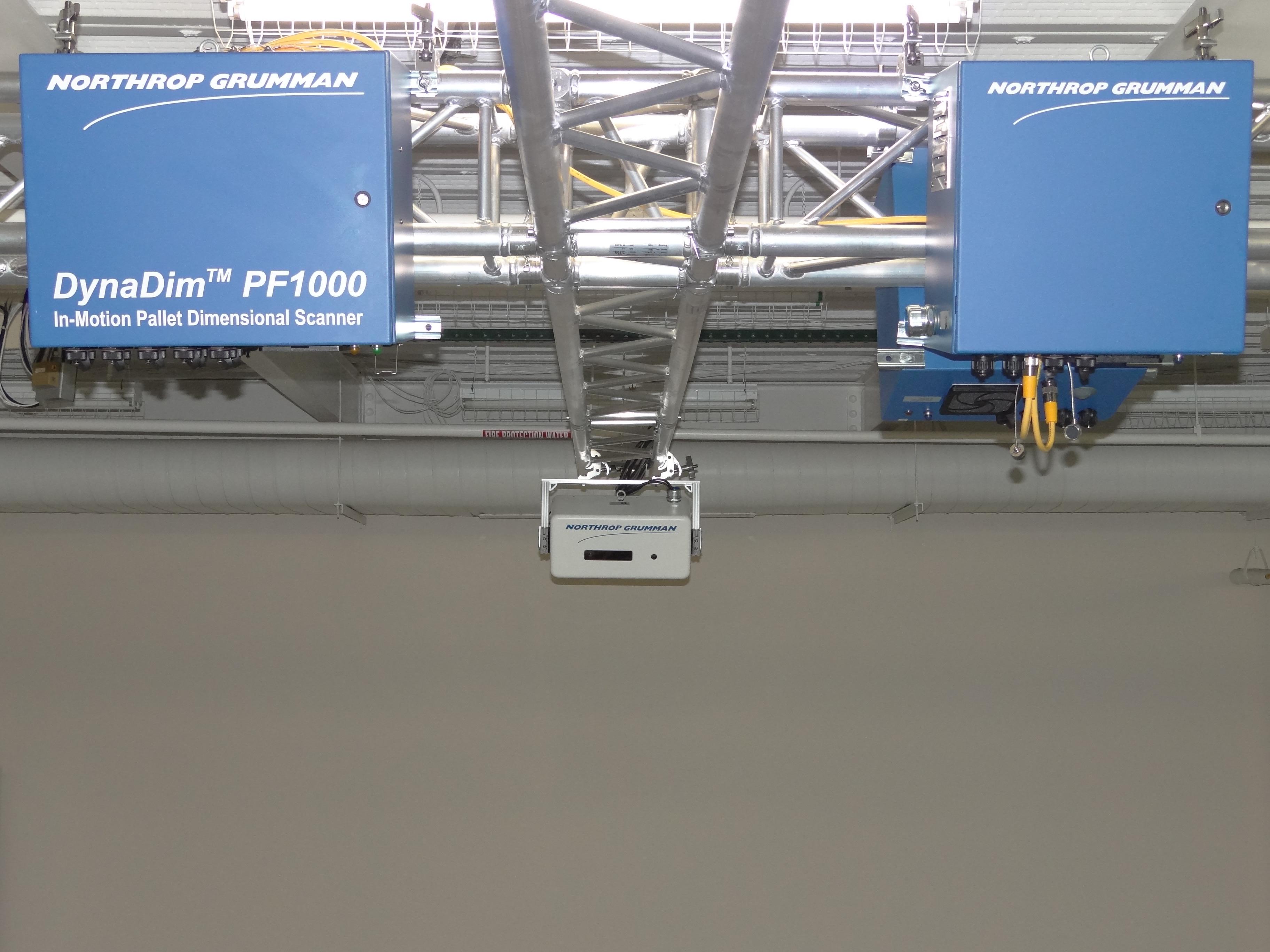 Northrop Grumman Dynadimtm In Motion Pallet Dimensioner Receives