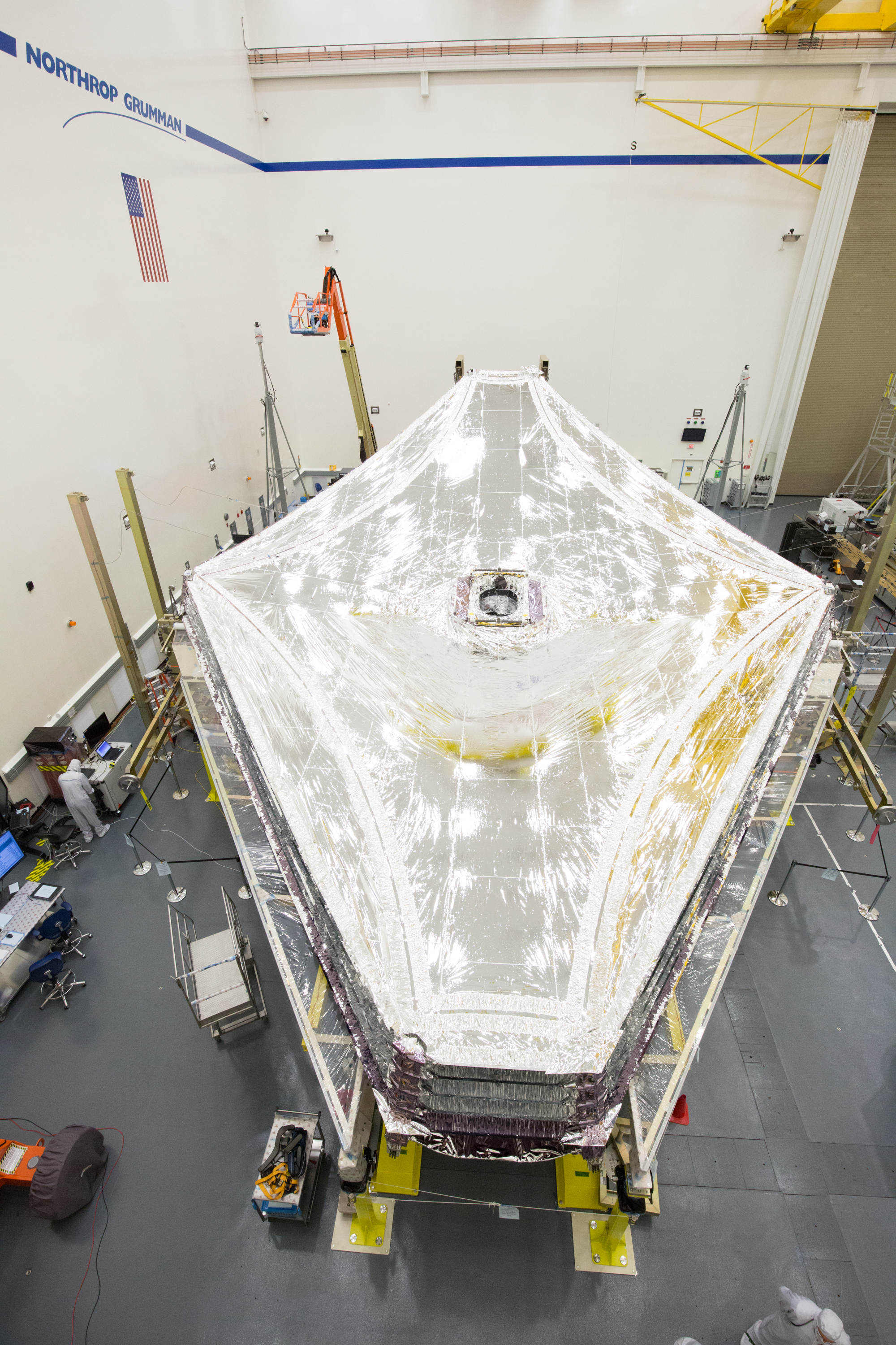 Sunshield Deployment and Layers Fully Tensioned on NASA's ...