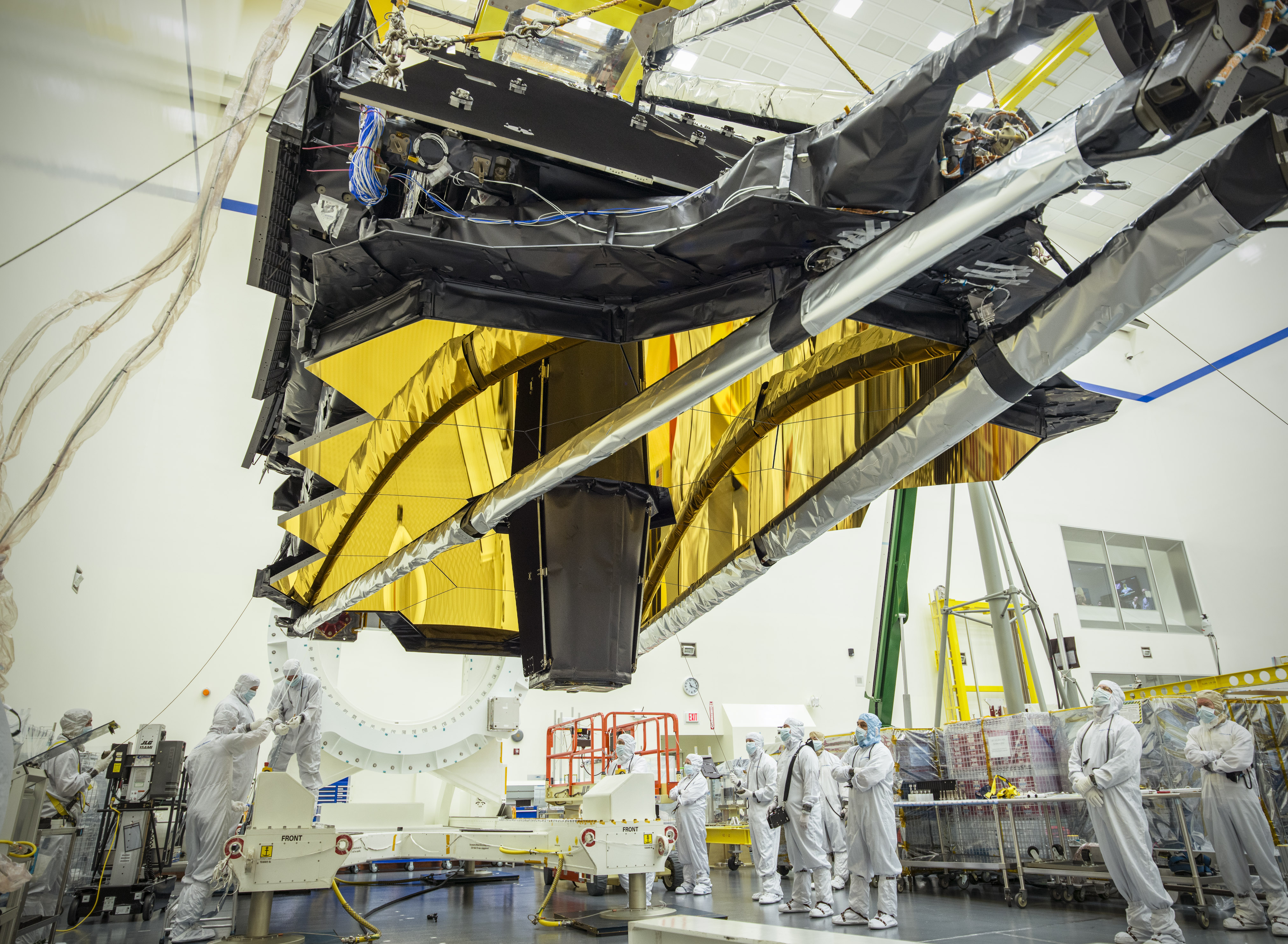 NASA's James Webb Space Telescope Optics and Science ...