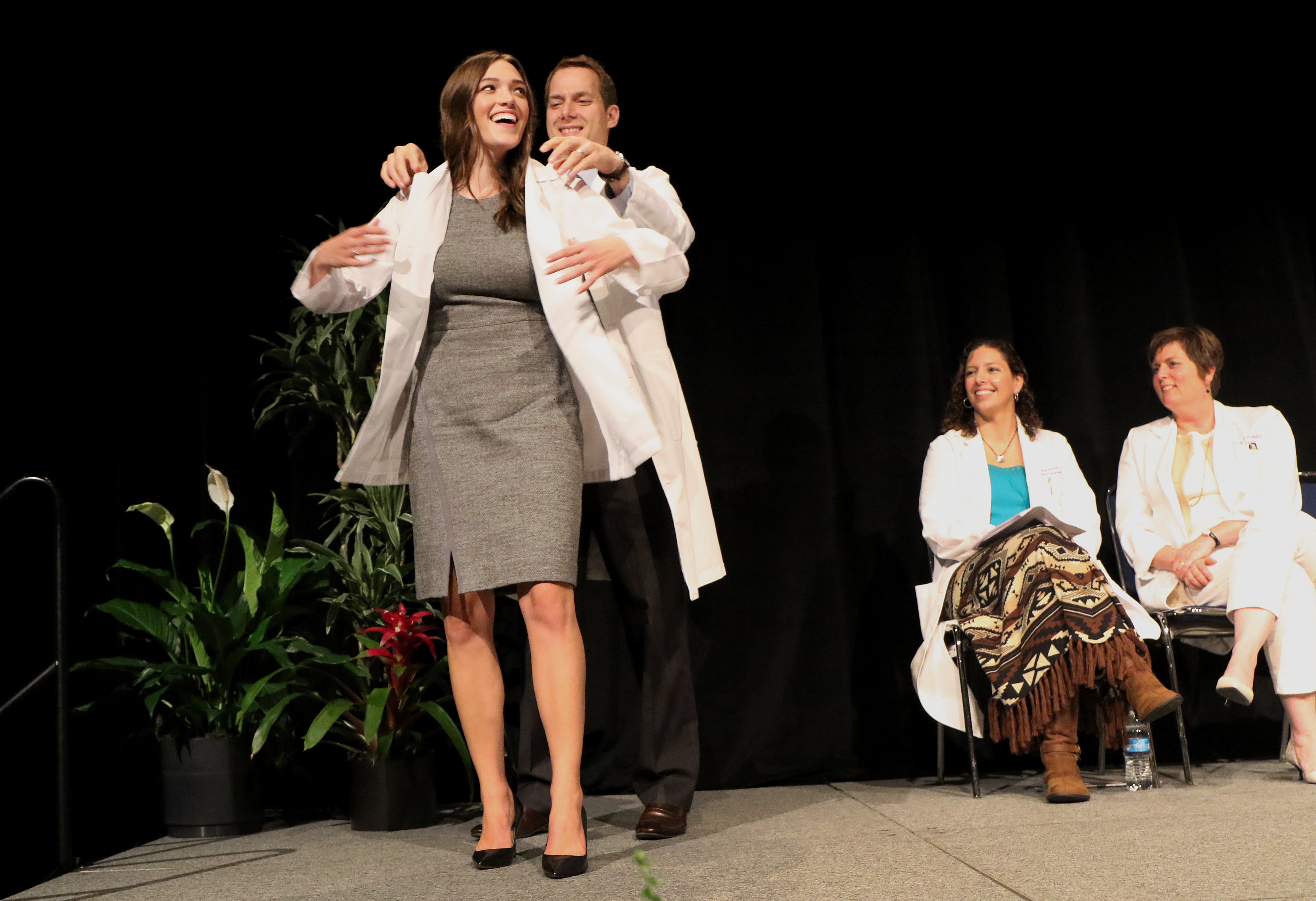 White Coat Ceremony launches medical odyssey for first-year ...