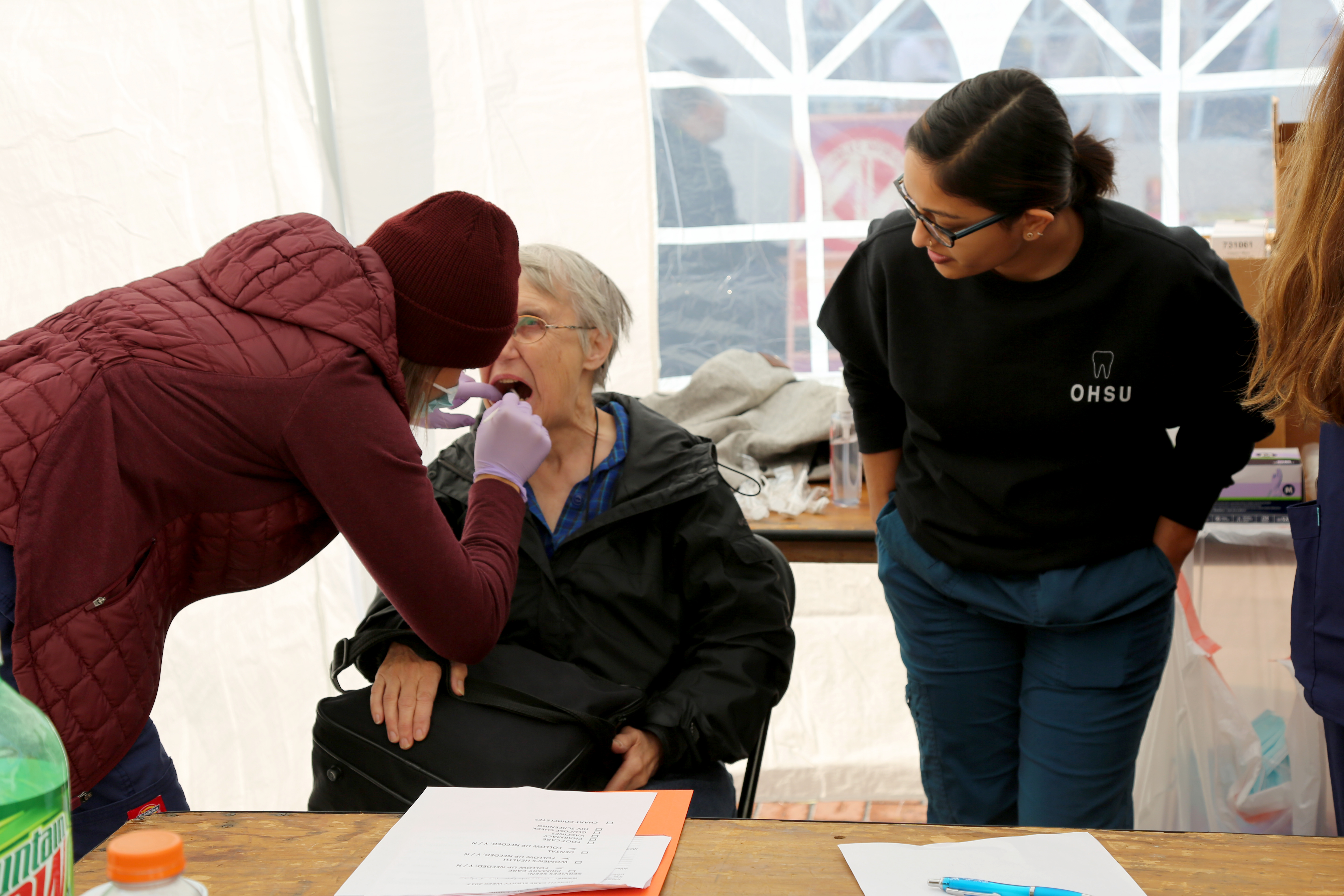 OHSU students give, learn at Health Care Equity Week Health Fair ...