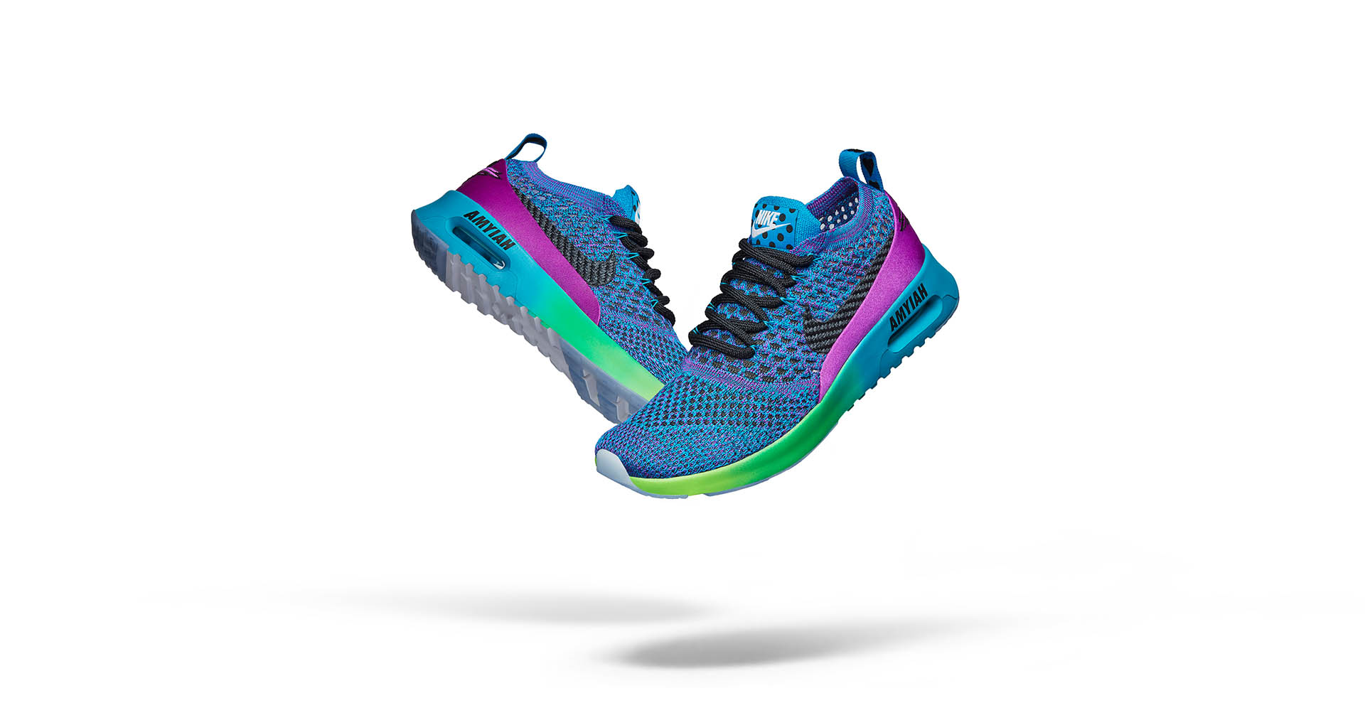 b9519cdf17 2017 Doernbecher Freestyle collection. Amyiah Robinson's colorful ombre Women's  Air Max Thea Ultra Flyknit ...