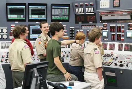 Boy Scouts at Oconee