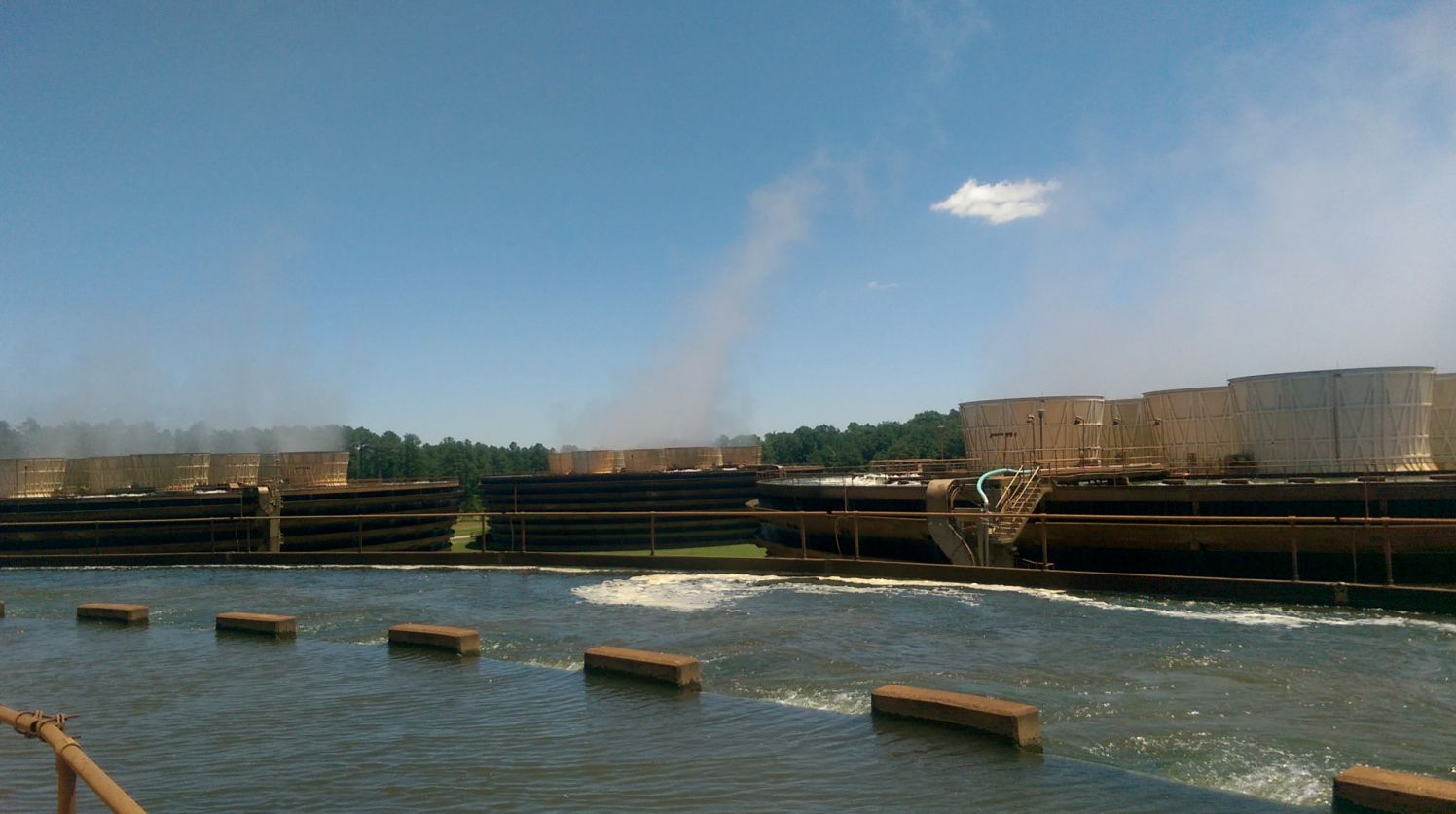 Cooling towers at Catawba Nuclear Station