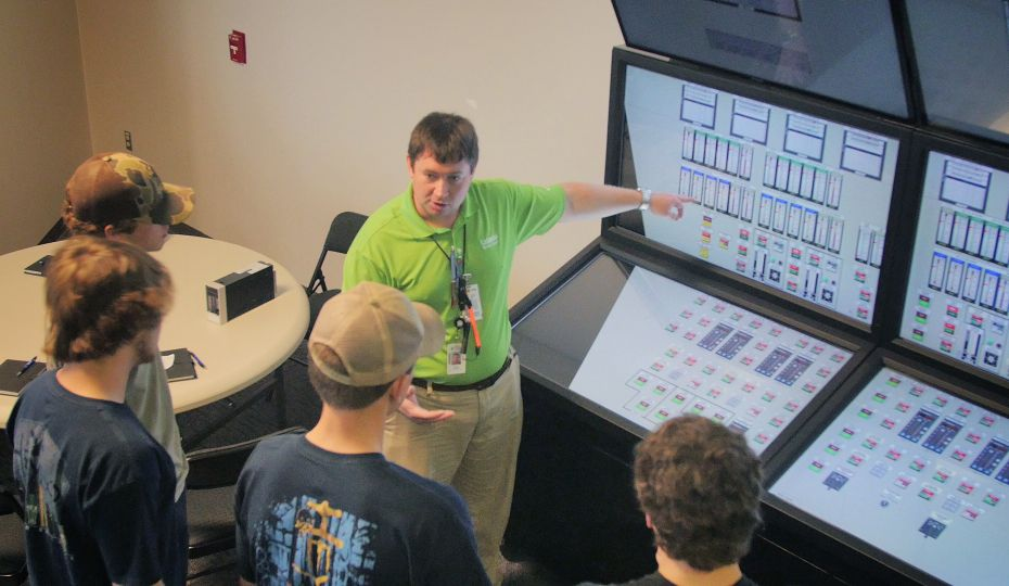 Area Students Explore Careers at Catawba Nuclear Station