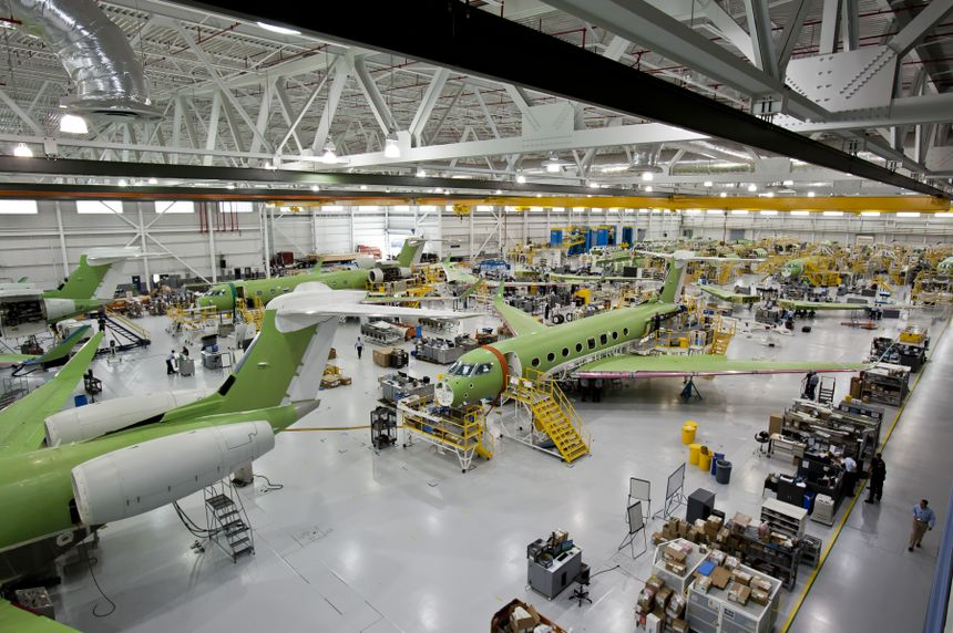 G650 Manufacturing Plant
