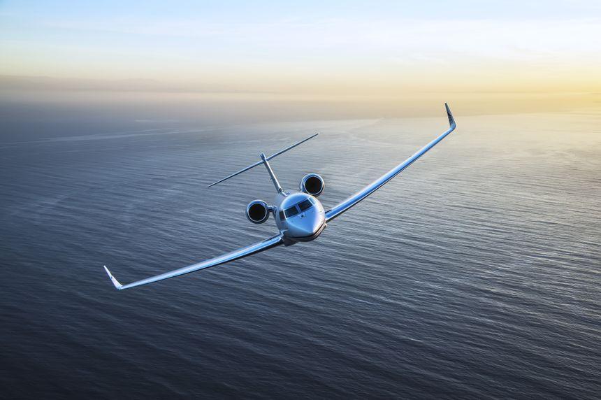 A Gulfstream G650ER