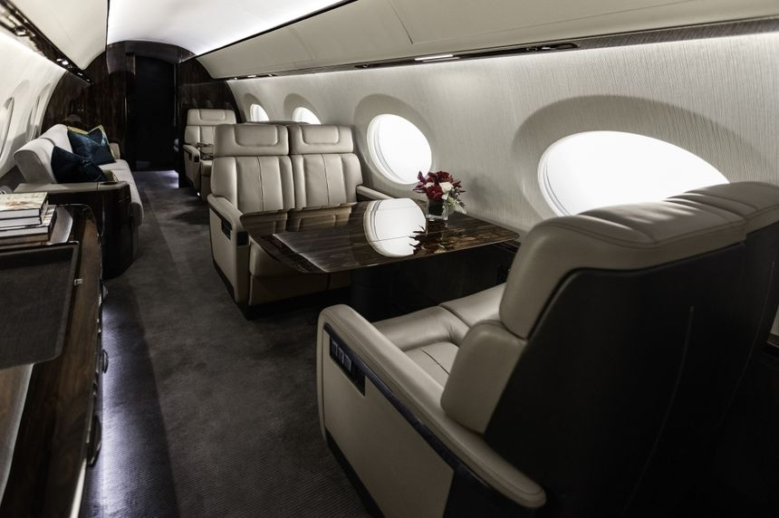 Gulfstream G600 Mock-Up