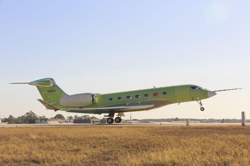 G600 First Flight
