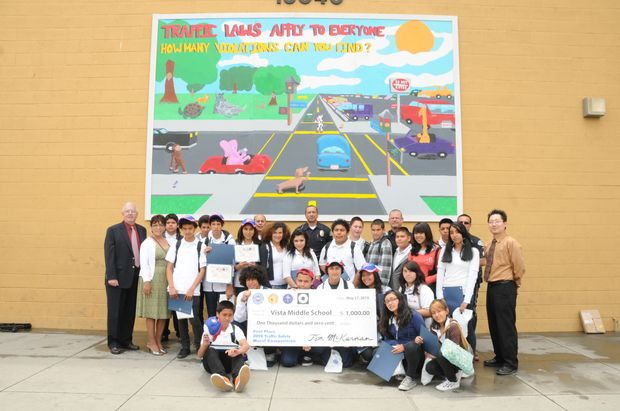 2010 LAPD Safety Mural