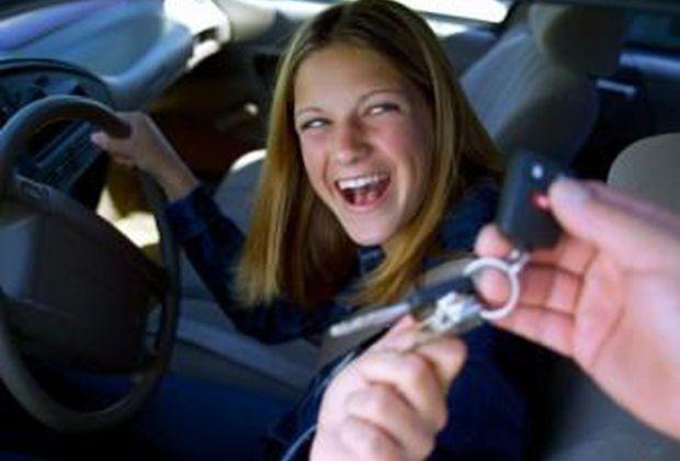 teen driver gets keys