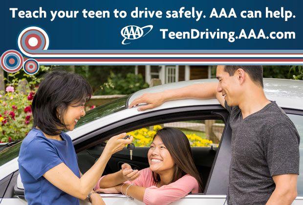 Keys2Drive ad with teen mom dad