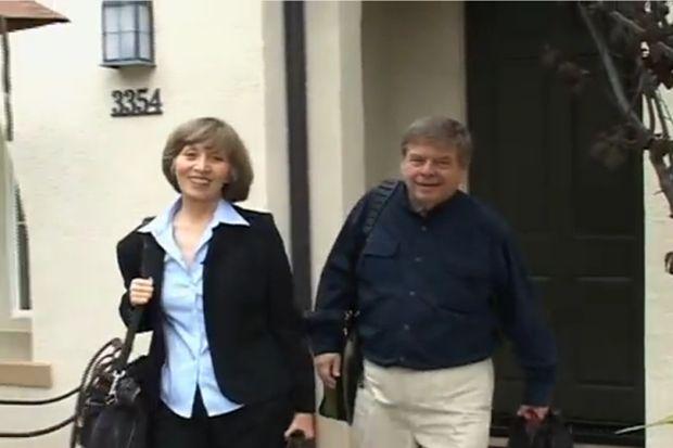 Elizabeth Harryman and Paul Lasley