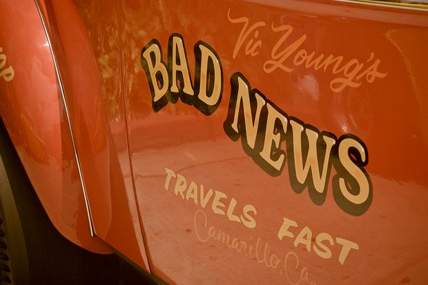 Bad news travels fast by Damian Gadal