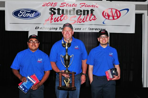 2015 CA Auto Skills winners