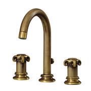 ROHL Jörger Aphrodite C-spout 3-hole Widespread Lavatory Faucet