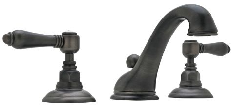 ROHL Viaggio Lavatory Faucet in Old Iron Finish